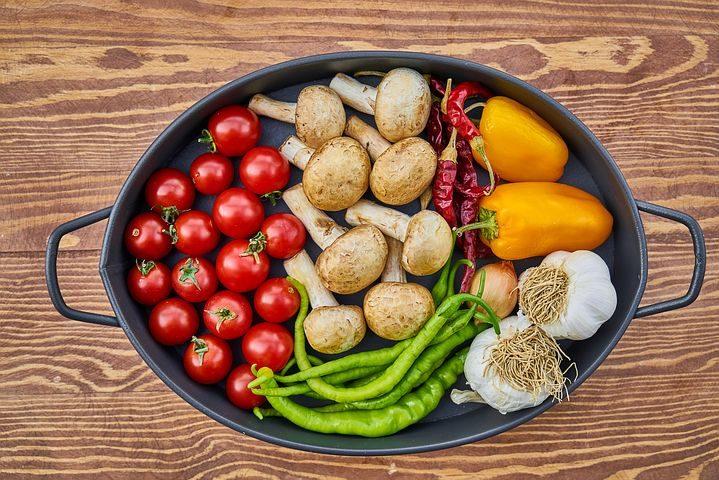 panela de vegetais