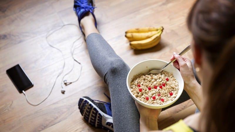 O que comer antes de treinar