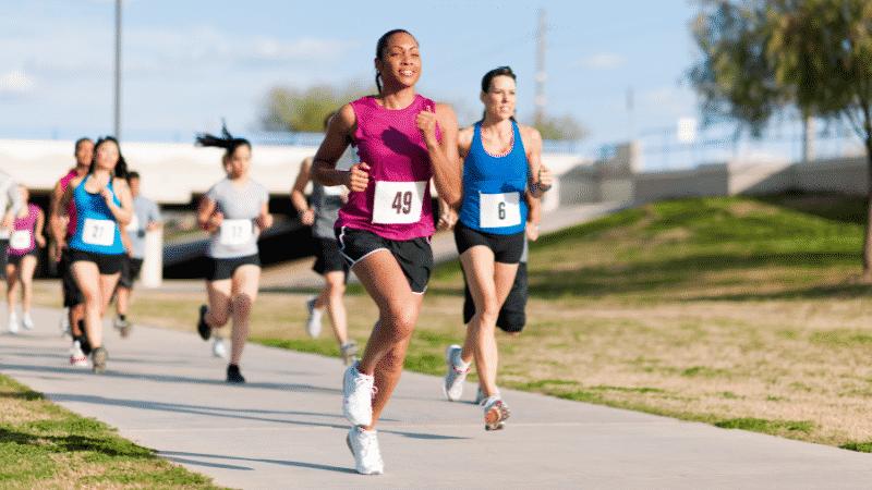 corredores com nutricionista esportivo