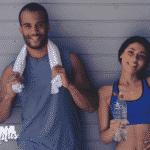 casal treinando com nutricionista esportivo