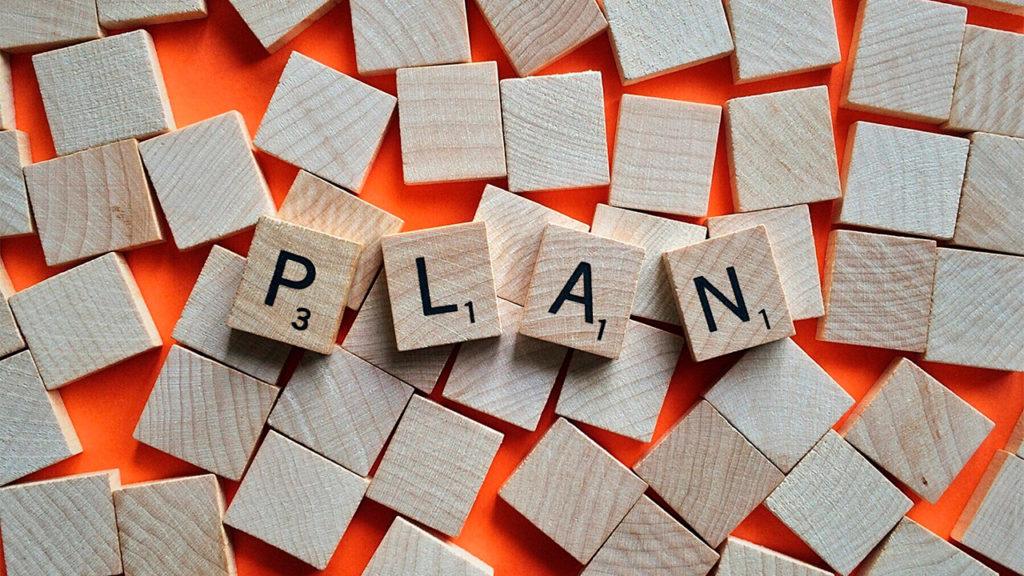 Planejando as mudanças