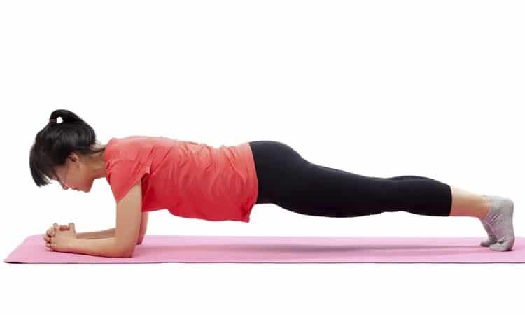 exercício prancha para emagrecer