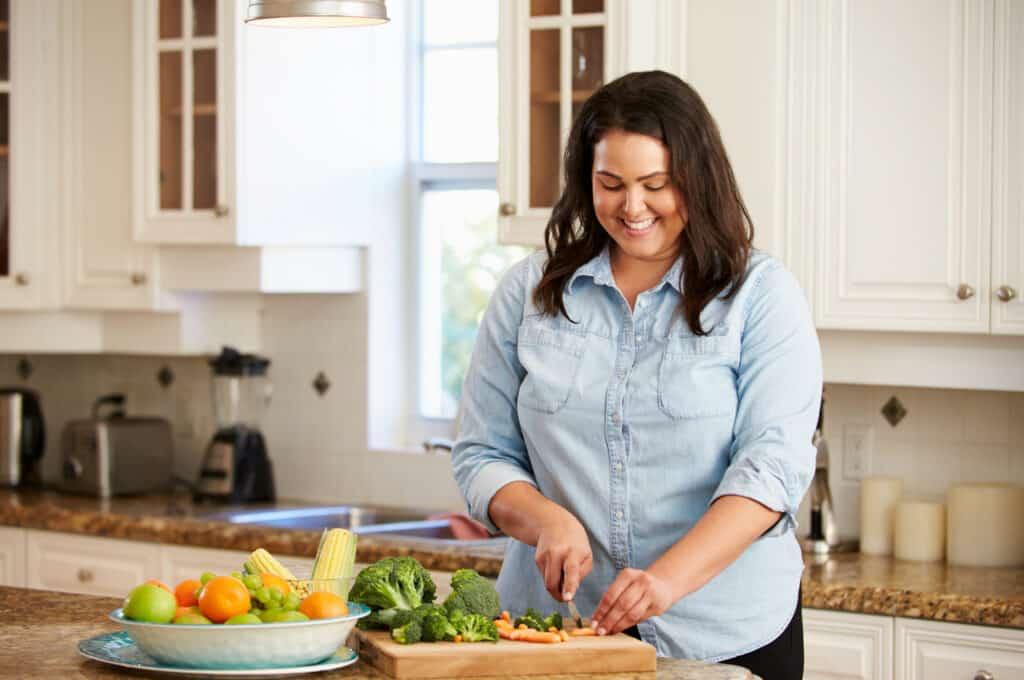 cozinhar mais para perder peso